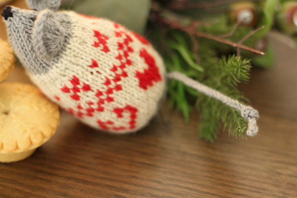 Nordic Christmas Mice | PDF Knitting Pattern