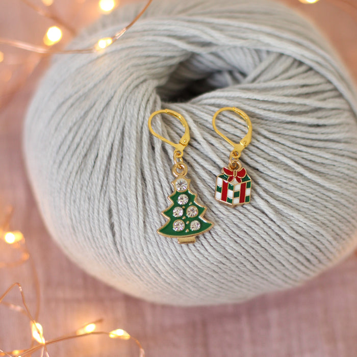 Under the Tree Stitch Markers | Knit or Crochet