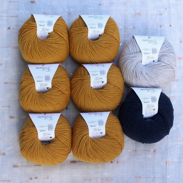 Dolly Cardigan Knitting Supply Kit | No. 9