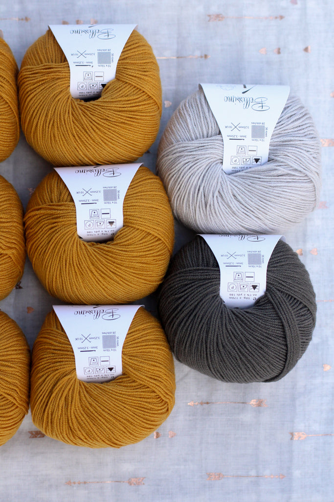 Dolly Cardigan Knitting Supply Kit | No. 8