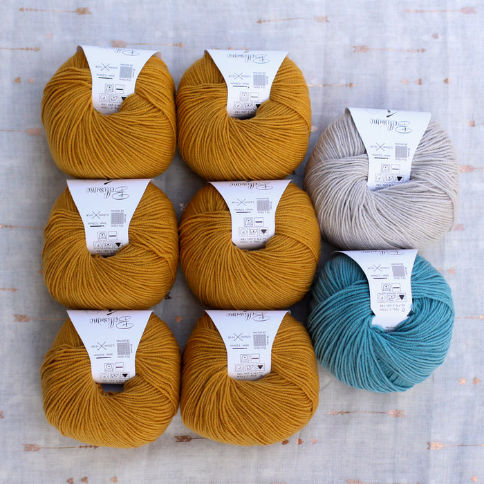Dolly Cardigan Knitting Supply Kit | No. 10
