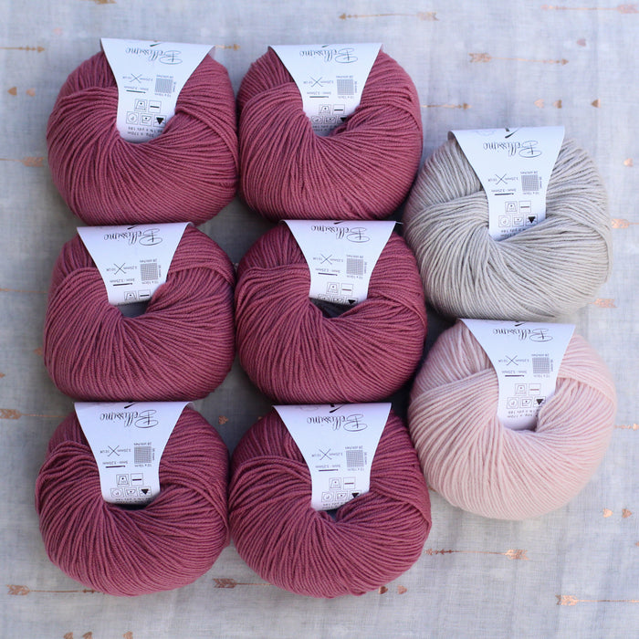 Dolly Cardigan Knitting Supply Kit | No. 11
