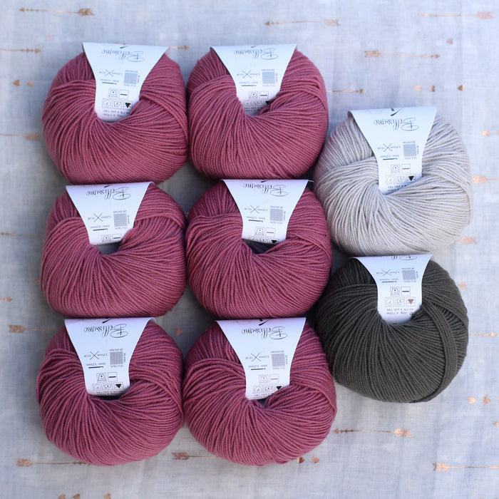 Dolly Cardigan Knitting Supply Kit | No. 12