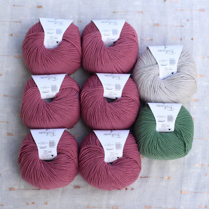 Dolly Cardigan Knitting Supply Kit | No. 13