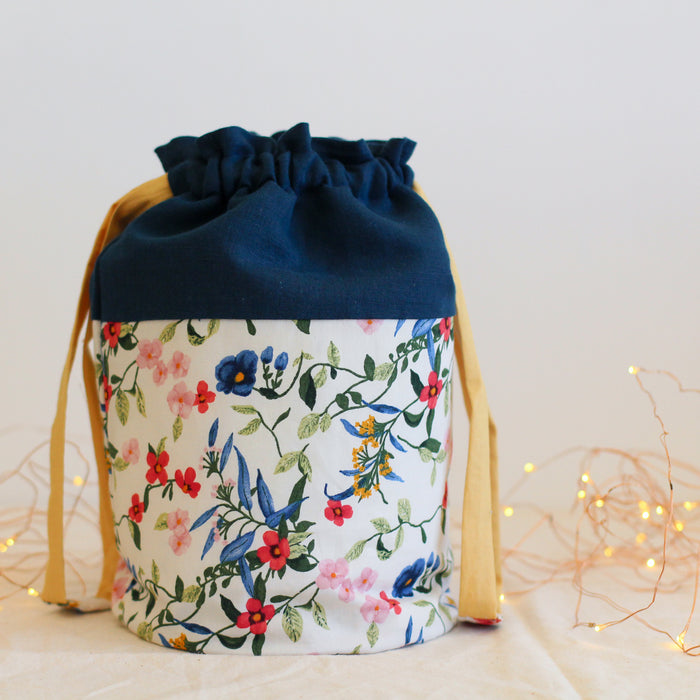 Native Floral | Project Bag