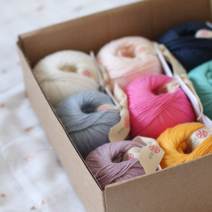 Hedgehog's Choice Yarn Box | Gossyp 4ply