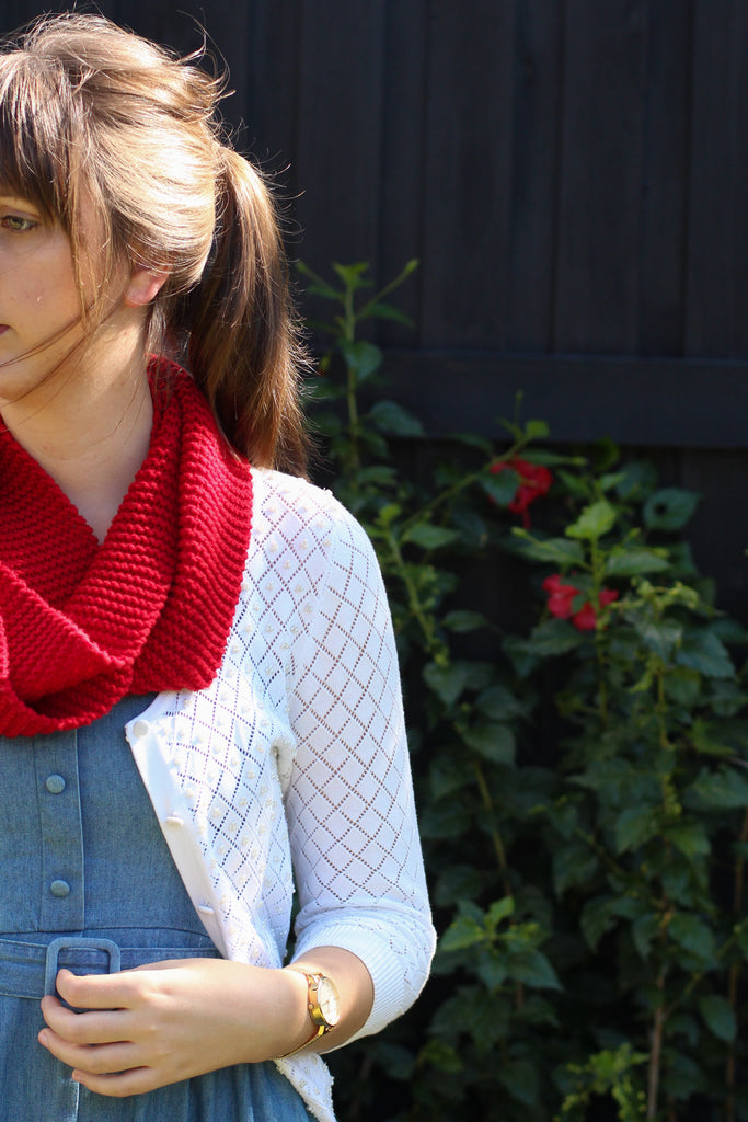 Simplicity Infinity Scarf | PDF Knitting Pattern