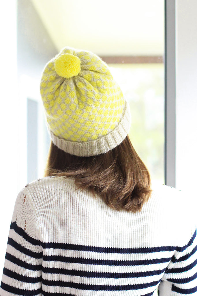 Darling Dots Beanie | PDF Knitting Pattern