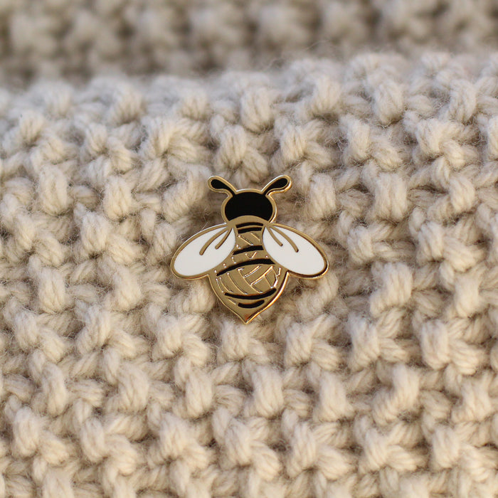 Enamel Pin - Woolly Bee