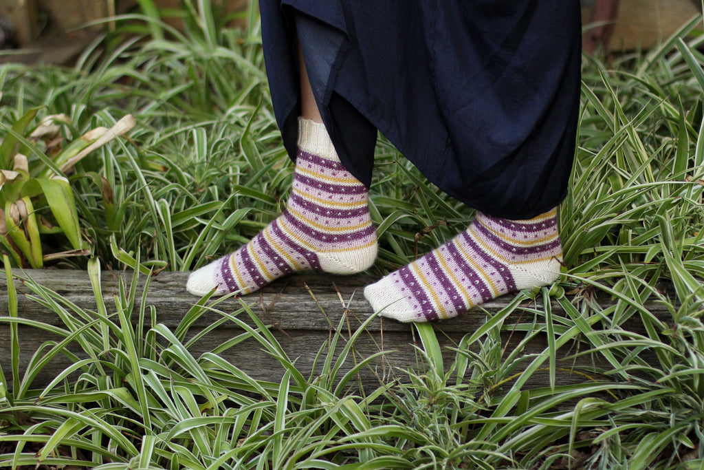 Friday Fair Isle Socks | PDF Knitting Pattern