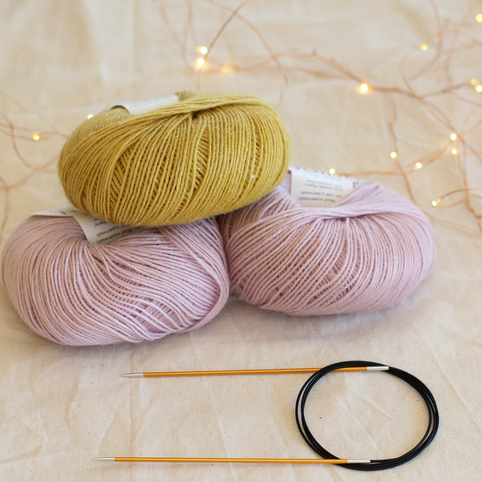 Beginner's Sock Knitting Kit | Level 2