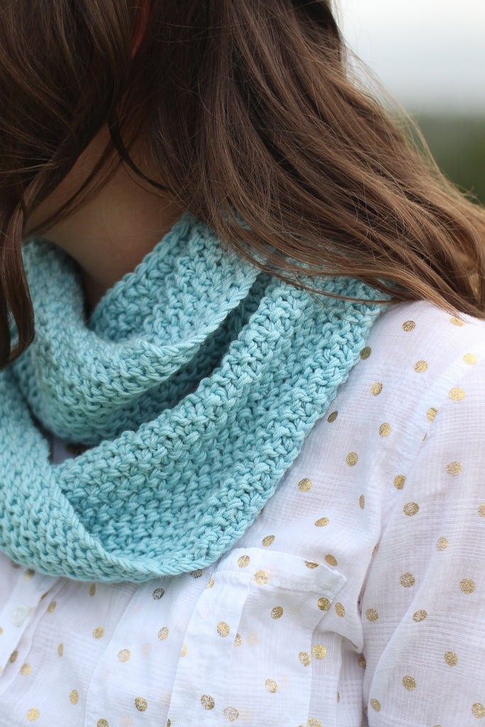Maple Infinity Scarf | PDF Knitting Pattern