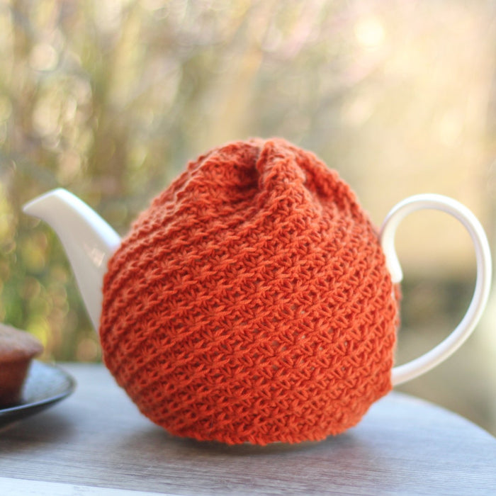Marmalade Tea Cosy | PDF Knitting Pattern