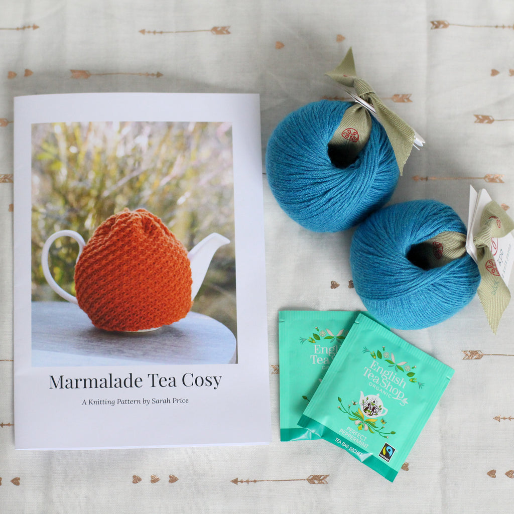 Marmalade Tea Cosy | Complete Knitting Kit