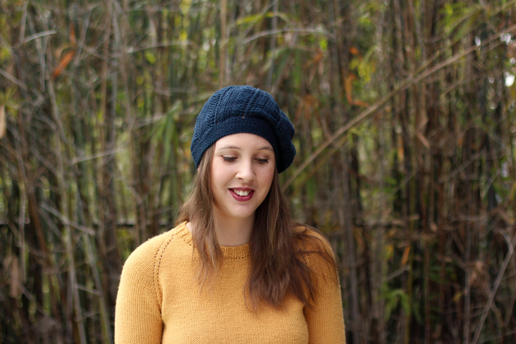 Mayberry Beret | PDF Knitting Pattern