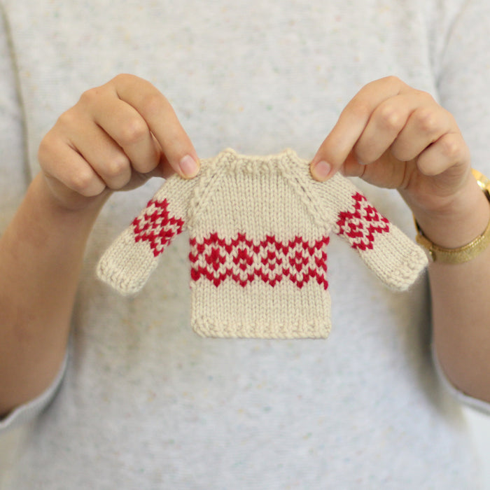 Mini Jumper | PDF Knitting Pattern
