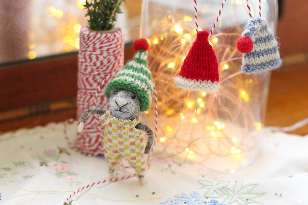 Mini Elf Hat | PDF Knitting Pattern