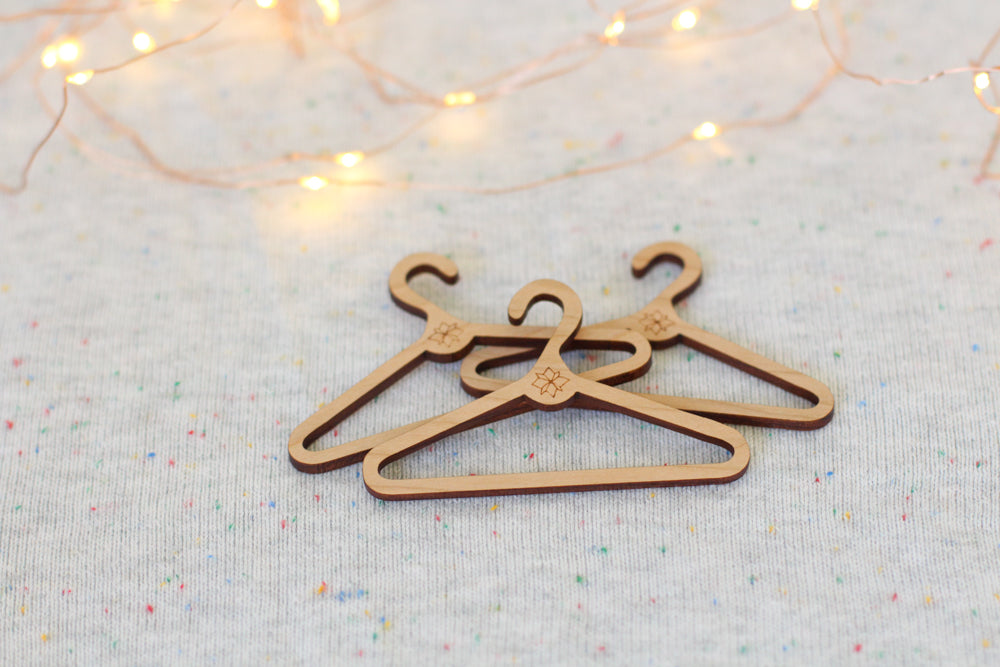 Mini Ornament Coat Hangers | Set of 3