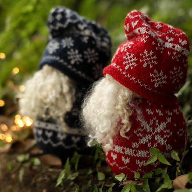 Nordic Christmas Gnome | PDF Knitting Pattern