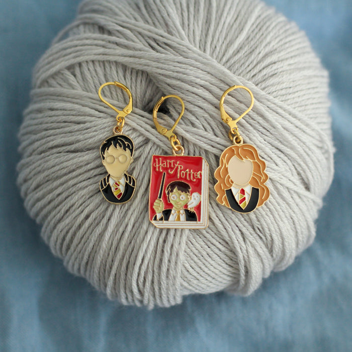 Wizardry Stitch Markers | Knit or Crochet