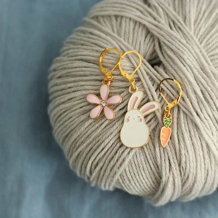 Little Lapin Stitch Markers | Knit or Crochet