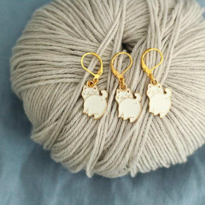 Cat Stitch Markers | Knit or Crochet