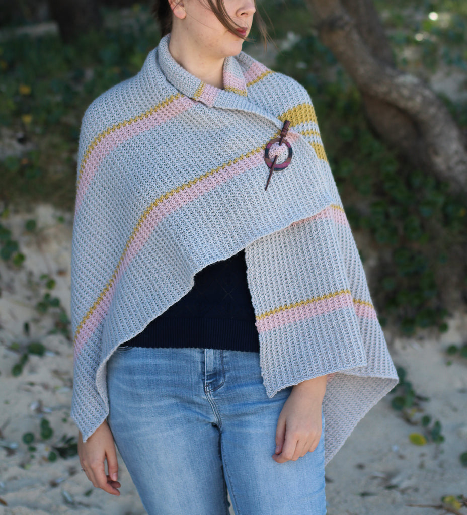 Willow Wren Wrap | PDF Knitting Pattern