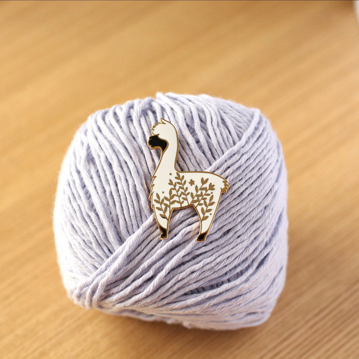Enamel Pin - Little Alpaca