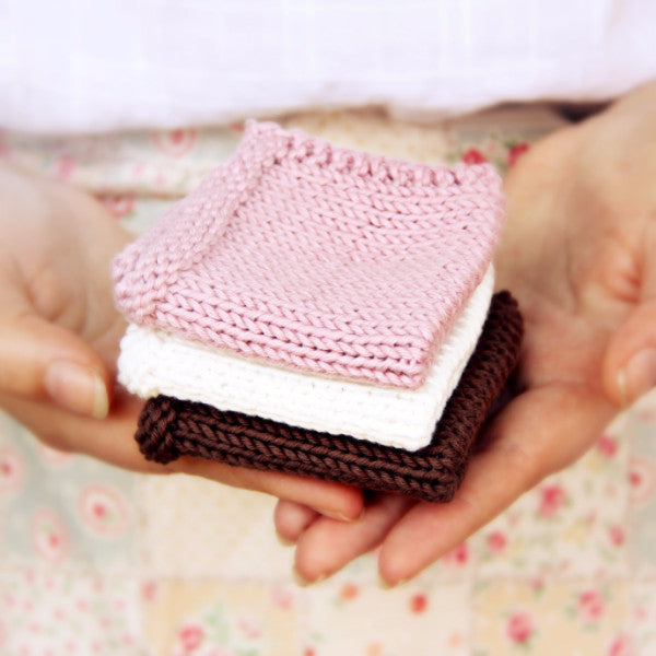 Pretty & Practical Washcloths | PDF Knitting Pattern