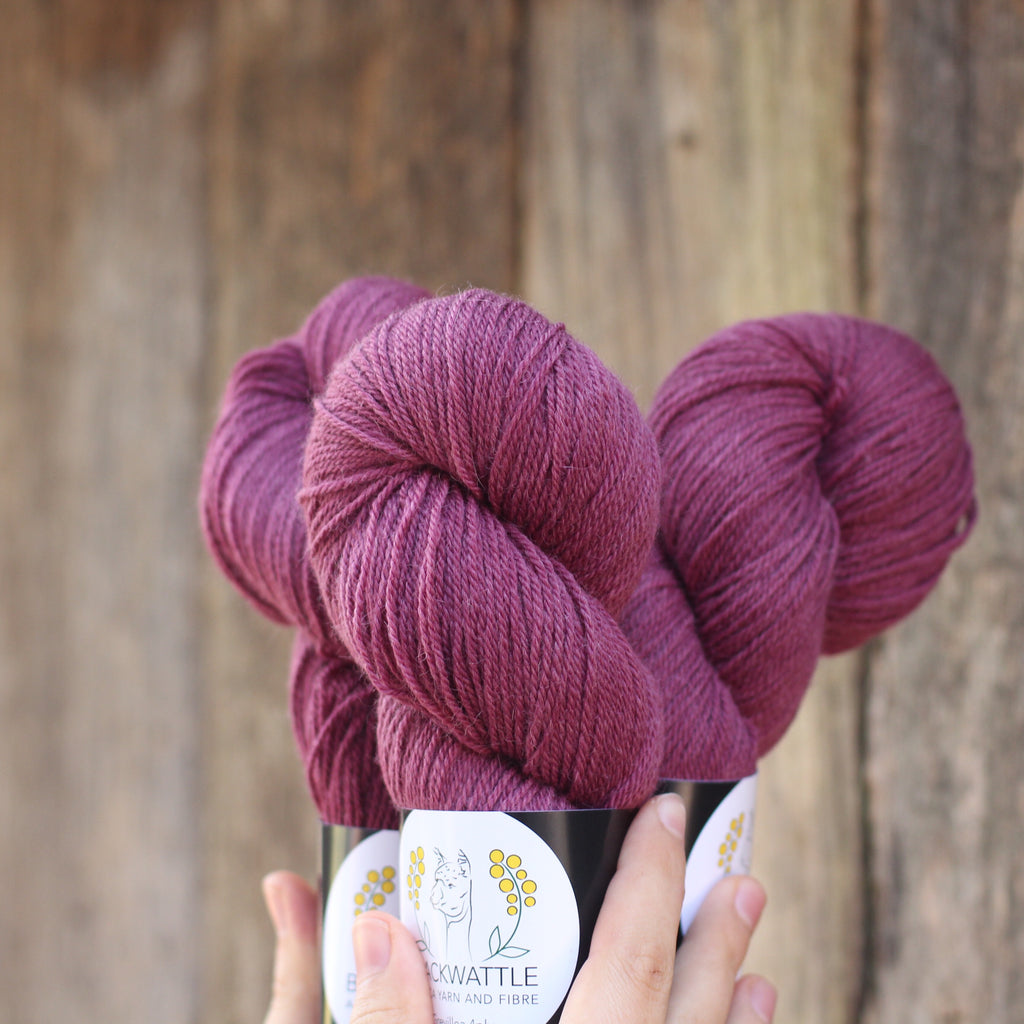 Grevillea Sock Yarn | Hand Dyed 4ply/Fingering