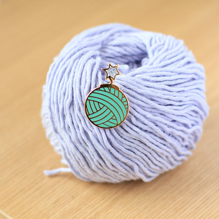 Enamel Pin - Yarn Bomb