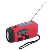 Emergency Radio - Solar & Hand Crank Powered