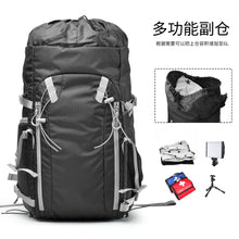 Zecti Hiking Backpack Travel Backpack, Long-Lasting Durability & Storage Pockets for Digital Camera Accessories with Waterproof Rain Cover Black