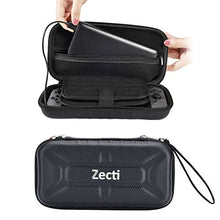 Zecti Switch Carrying Case compatible with Nintendo Switch - 20 Game Cartridges Protective Hard Shell Travel Carrying Case Pouch for Nintendo Switch Console & Accessories, Black