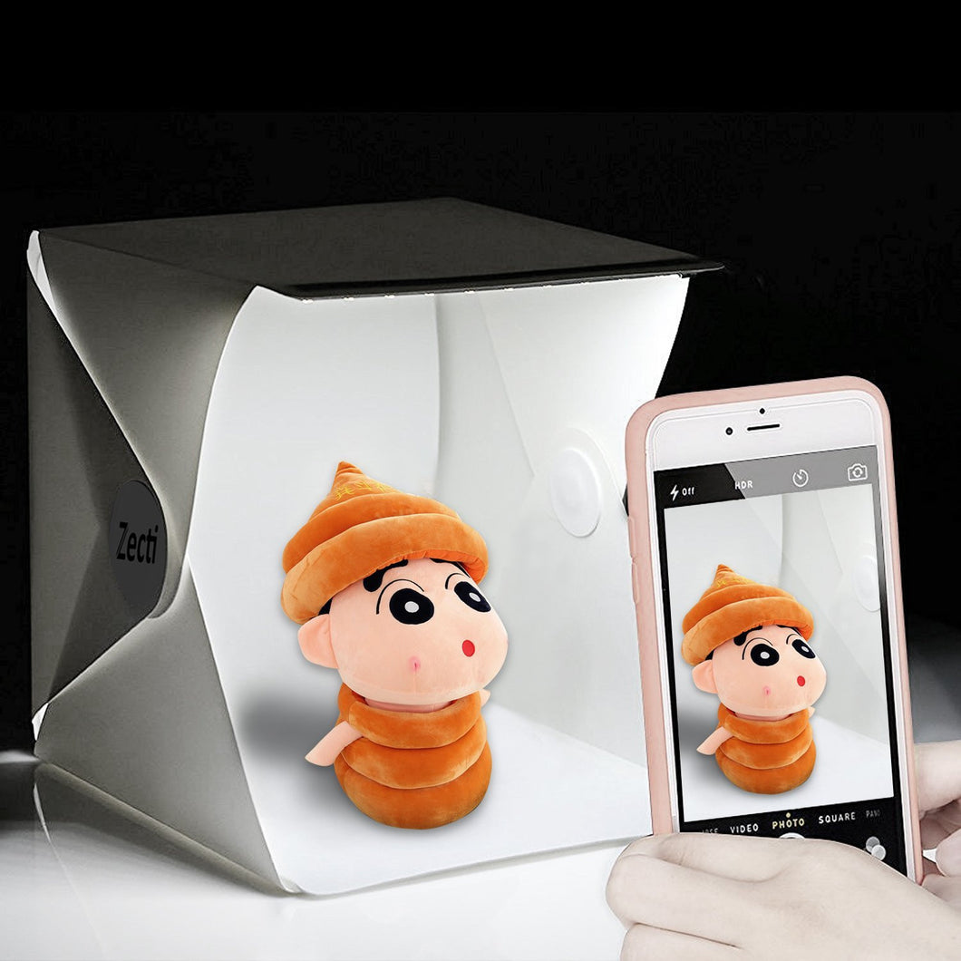 ... Photo Light Box Zecti Light Tent with Black and White Backdrop for Smartphone and DSLR ... & Photo Light Box Zecti Light Tent with Black and White Backdrop ...