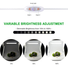 Zecti 4W Dimmable 10-Level Brightness USB Strip Bar Light for TV Monitor Backlight Closet Cabinet Shelf Desk photography Stick-on Anywhere 5500k