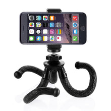 Zecti Flexible Cellphone Tripod with Phone Mount Adapter for SLR Digital Camera, Gopro, iPhone