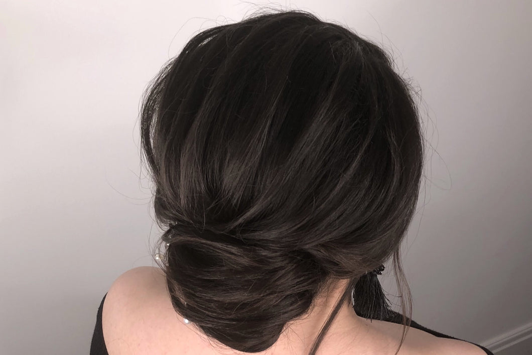 SUPER GLAM TEXTURISED FRENCH ROLL
