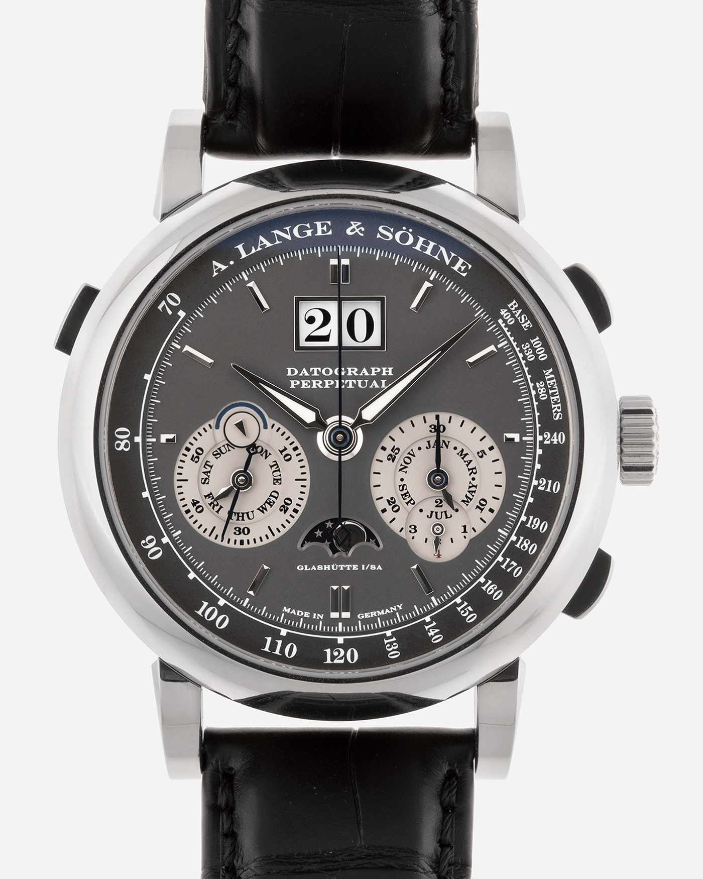 A. Lange & Sohne Datograph Perpetual Grey