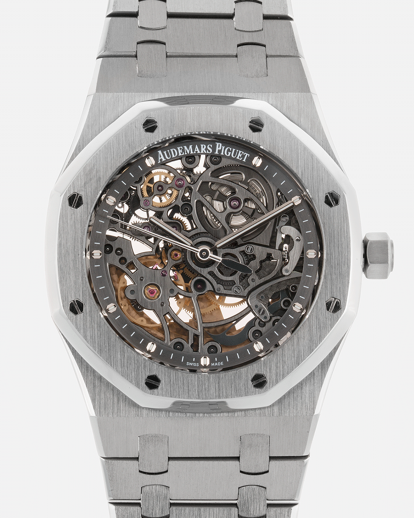 Audemars Piguet Royal Oak 15305ST Openworked Skeleton Watch | S.Song Vintage Timepieces