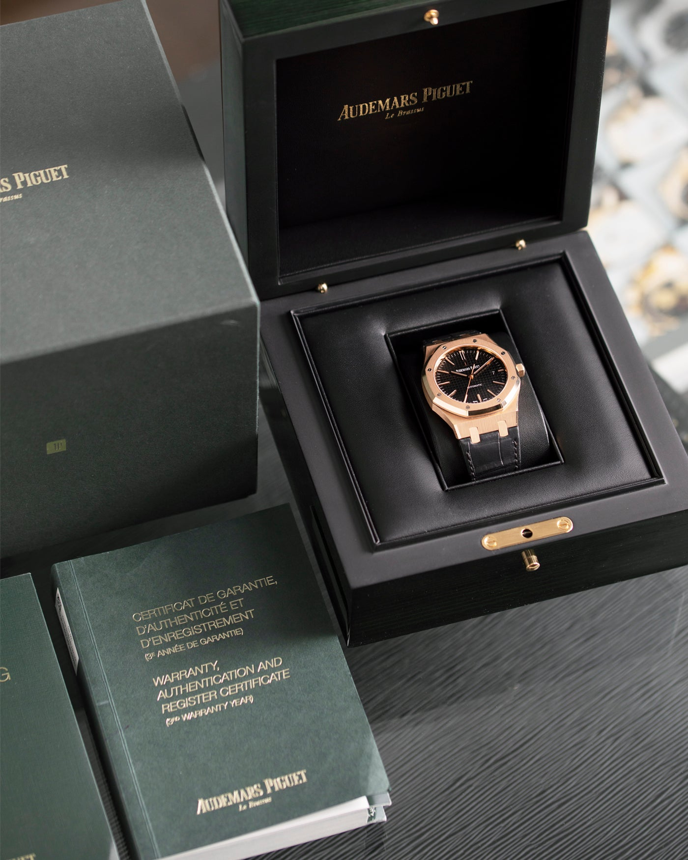 Audemars Piguet Royal Oak 15400 Rose Gold