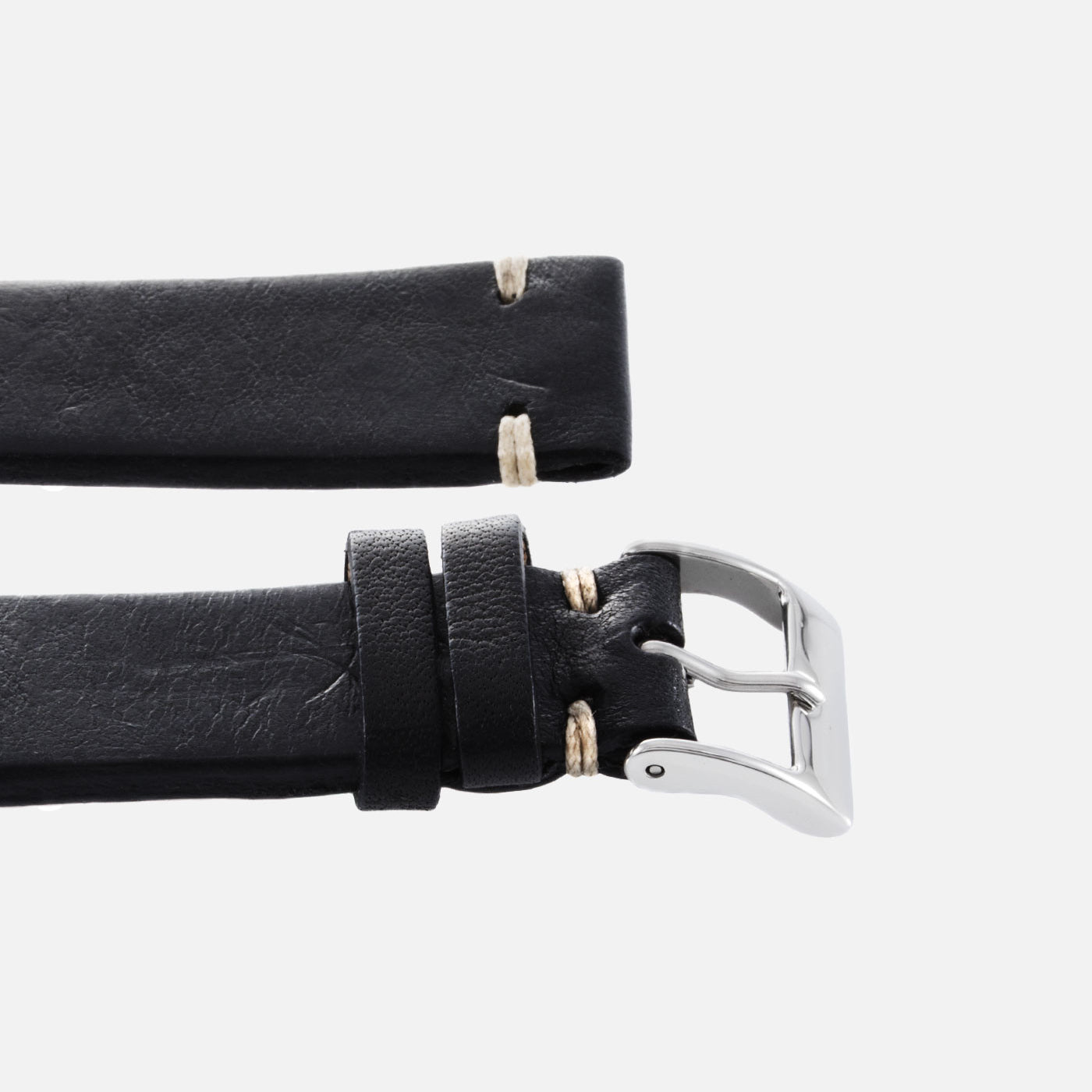JPM X S.Song Black Natural Leather