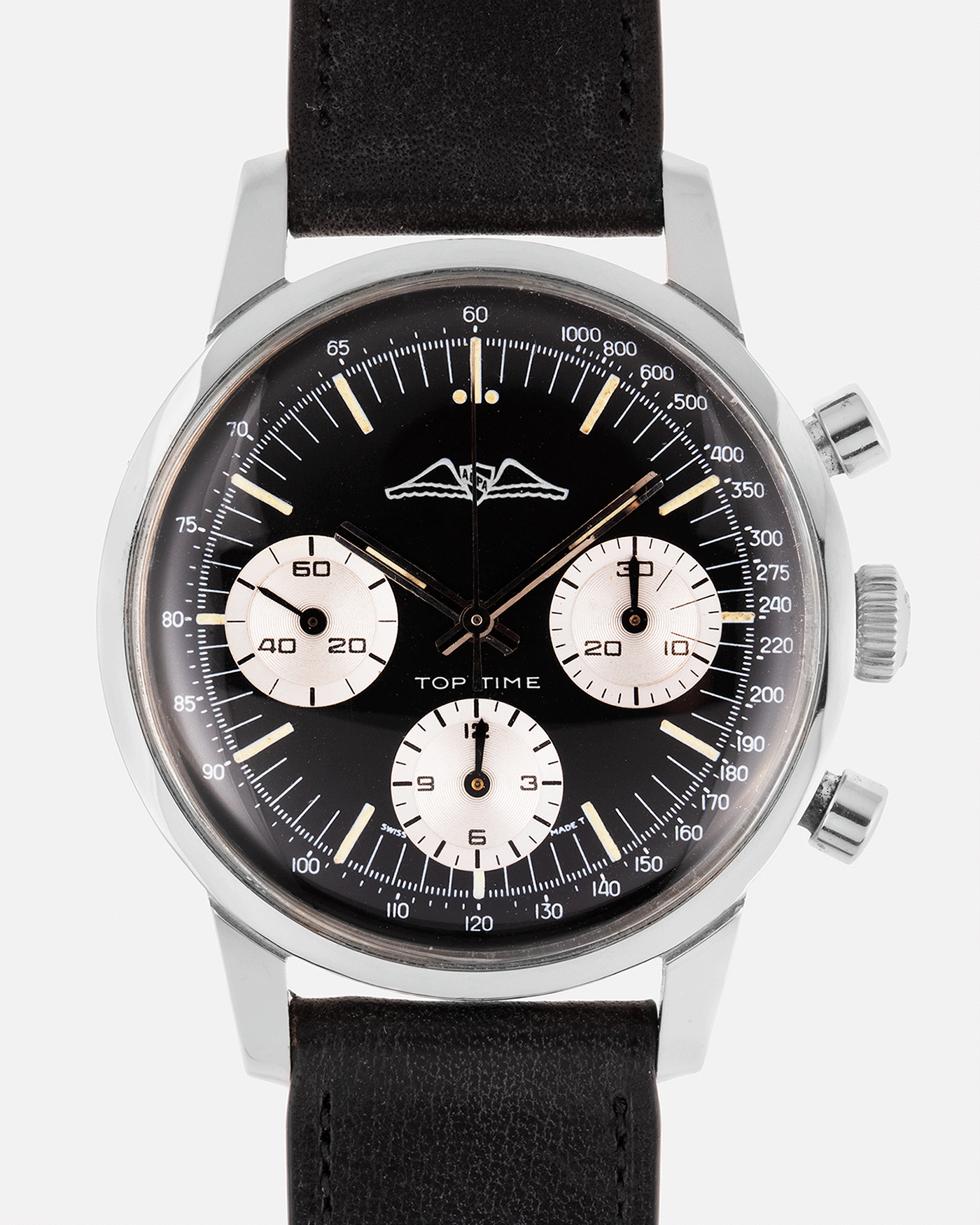 Breitling Top Time Ref. 810 AOPA Vintage Racing Chronograph Watch | S.Song Vintage Watches For Sale