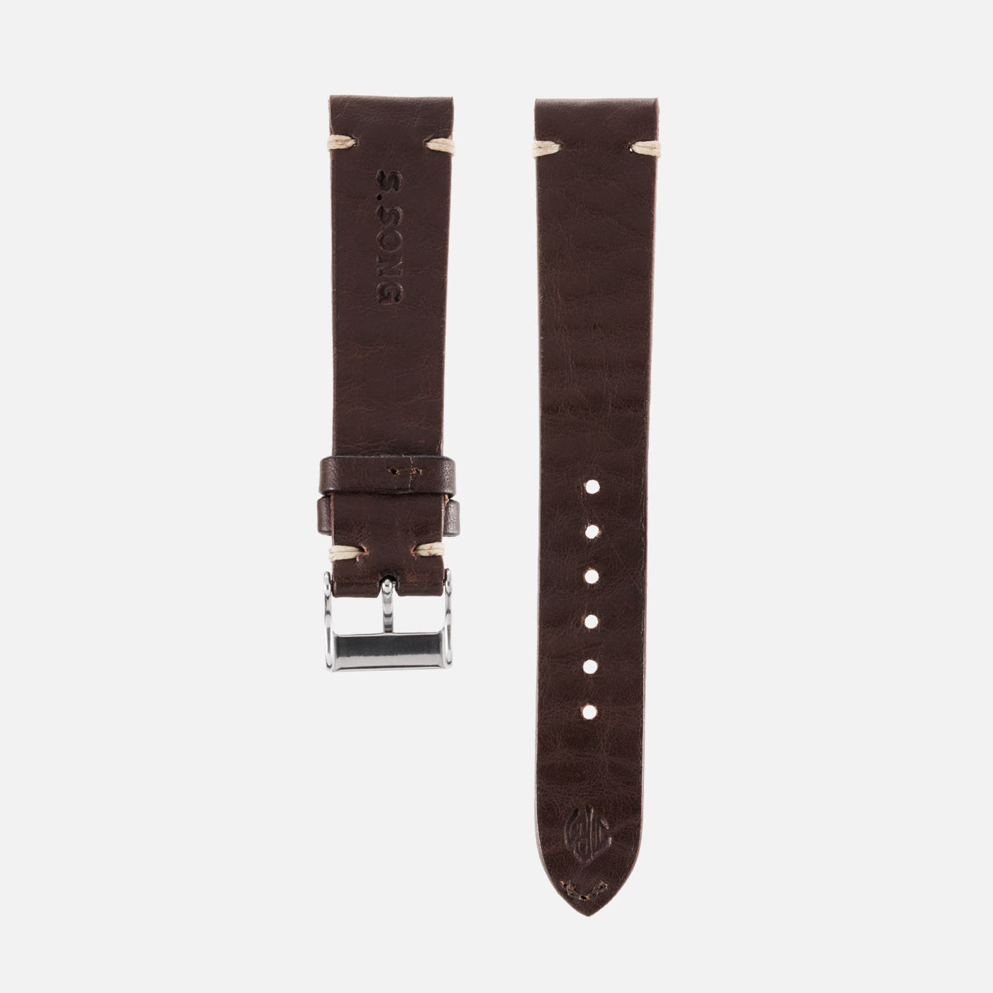 JPM X S.Song Dark Brown Natural Leather