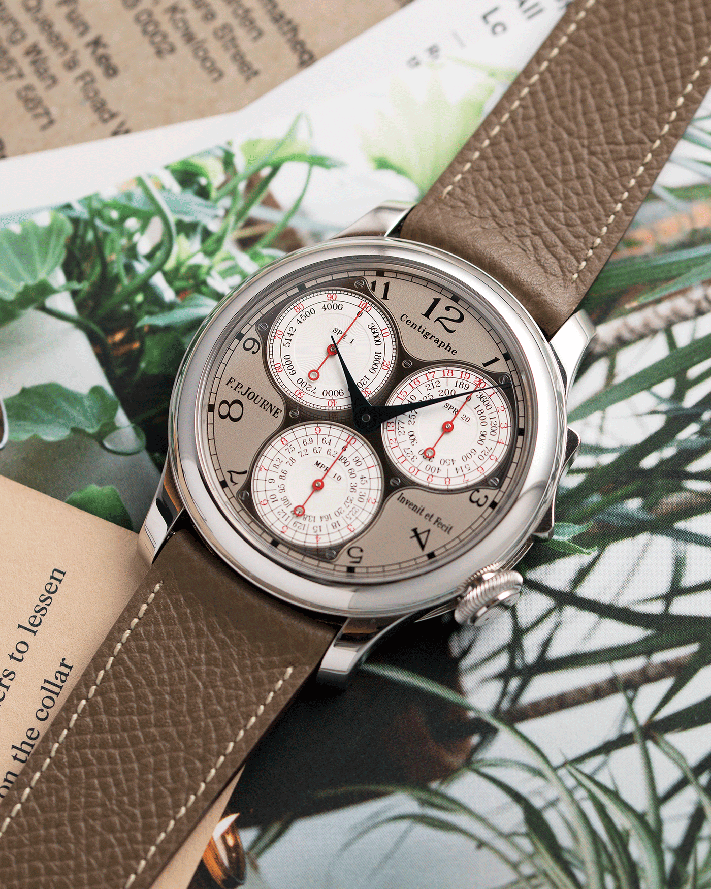 F.P. Journe Centigraphe Souverain Independent Watch | S.Song Vintage Timepieces