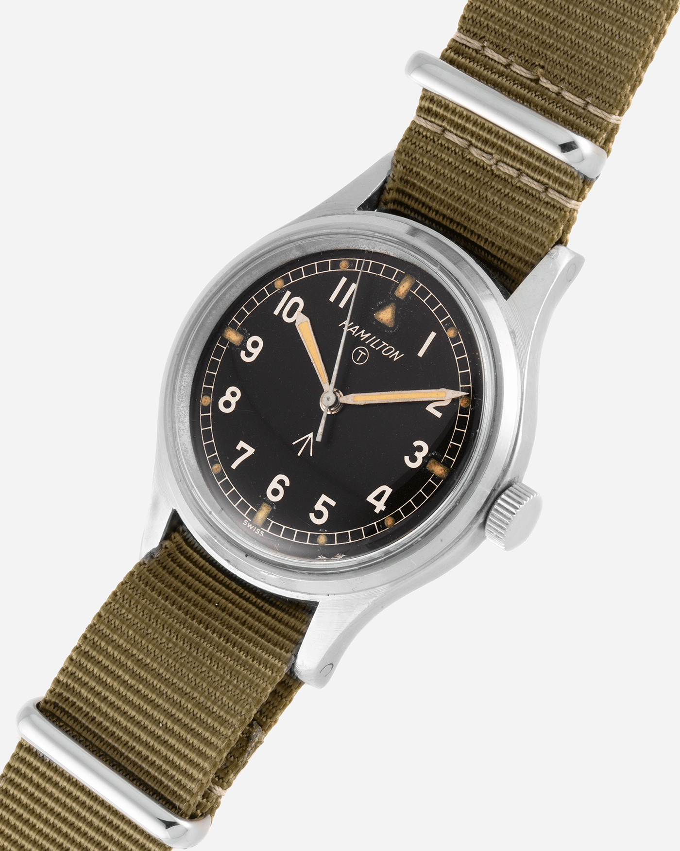Hamilton 6B RAF Vintage Military Watch | S.Song Vintage Watches  For Sale
