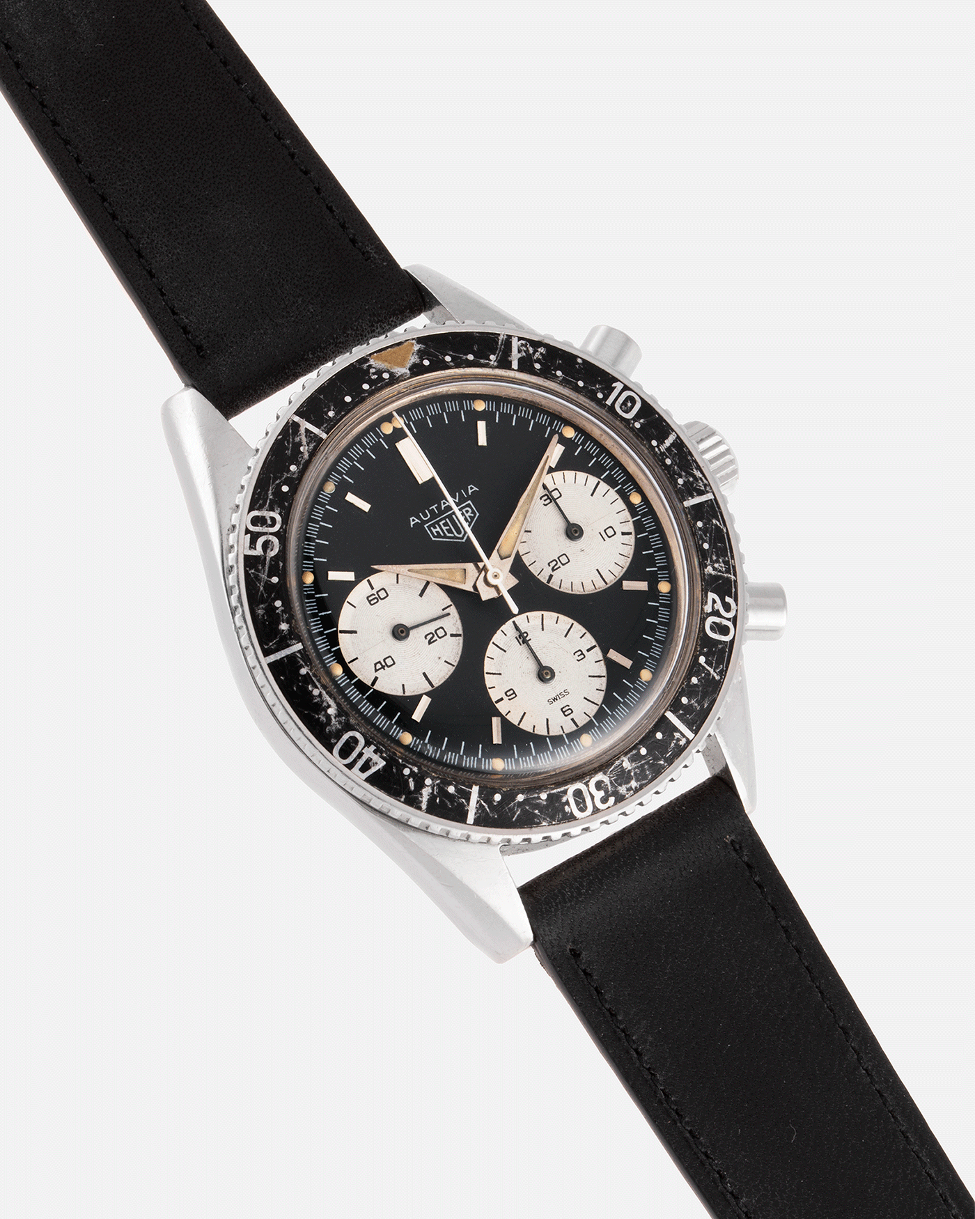 Heuer Autavia 2446 Second Execution Vintage Chronograph Watch  | S.Song Vintage Watches