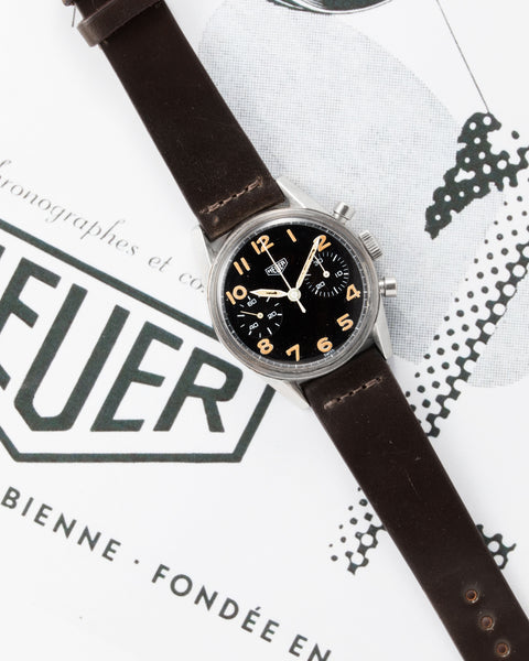 Heuer Carrera 'Belgian Air Force'Ref. 7753