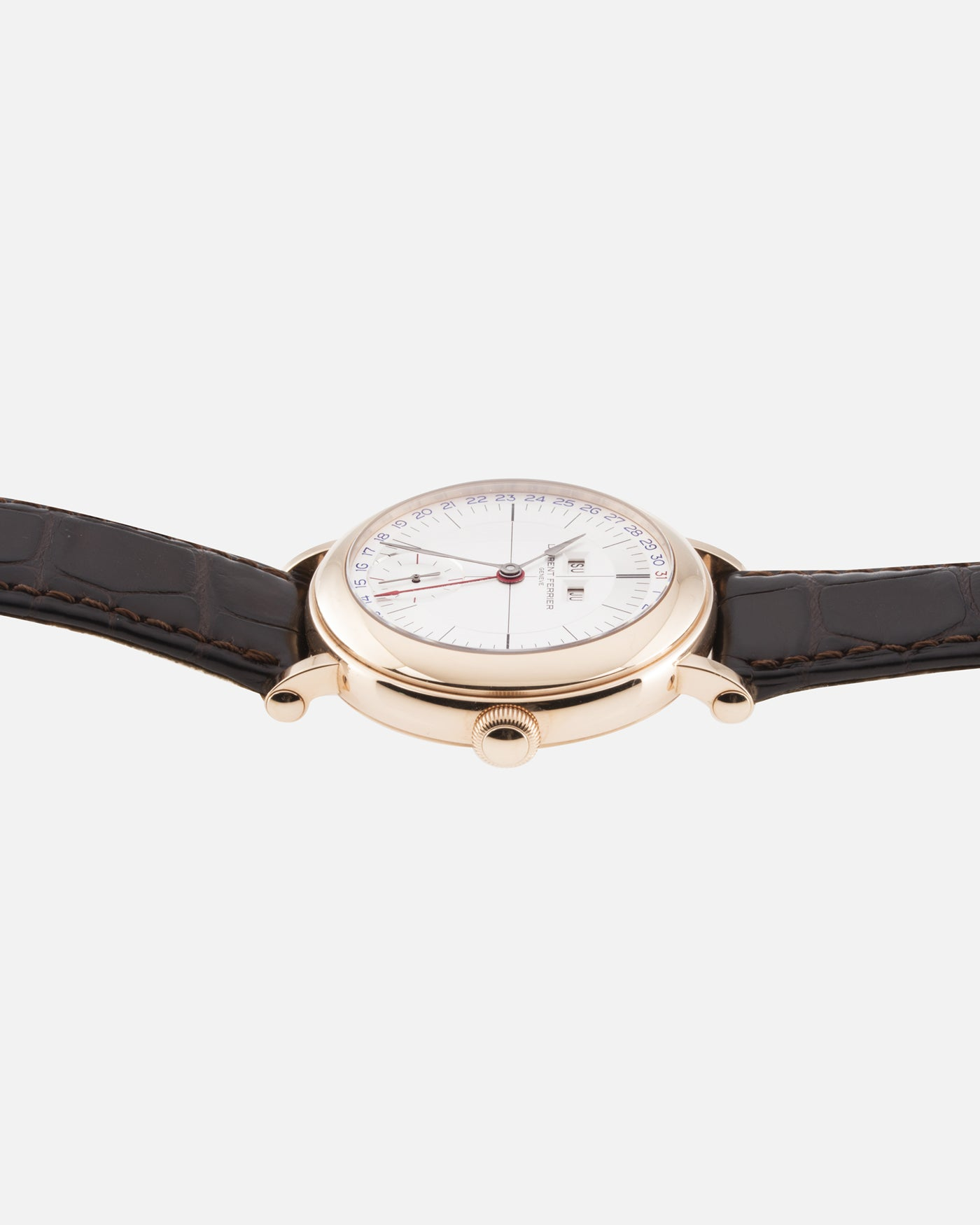 Laurent Ferrier Galet Annual Calendar Montre Ecole