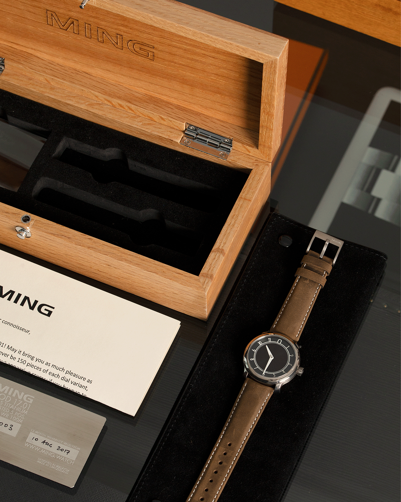 MING Watches 17.01 Anthracite Watch | S.Song Vintage Timepieces Ming Thein